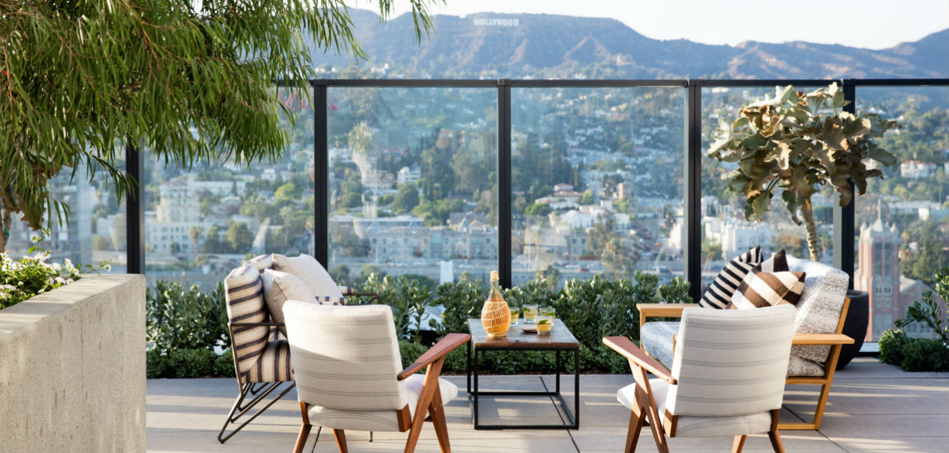 Hollywood Proper Residences Rooftop