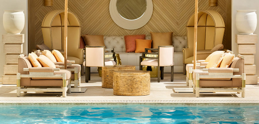 The Tides South Beach pool deck