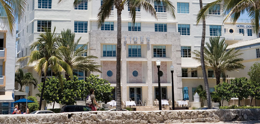 The Tides South Beach is a hospitality investment by The Kor Group, a real estate development firm that completed renovations in 2007.
