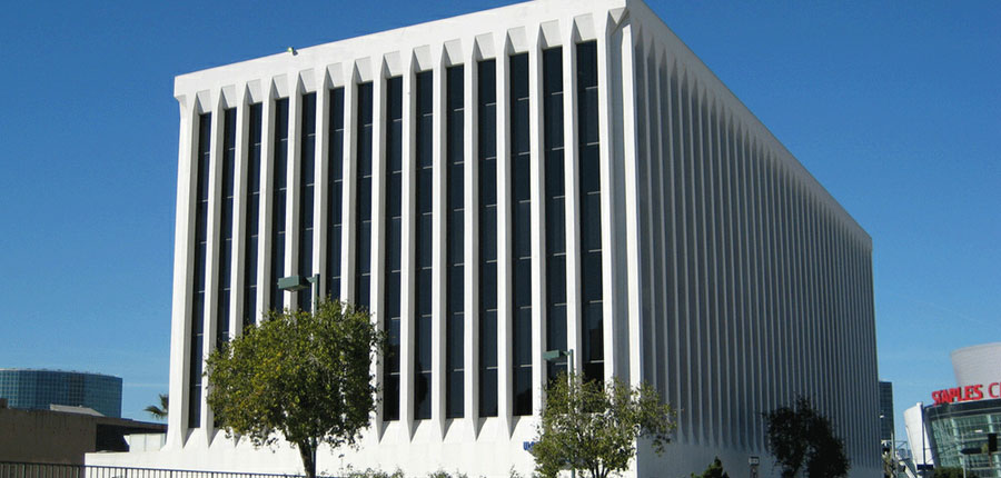 The Kor Group's commercial real estate investment projects have included prime downtown Los Angeles office buildings.