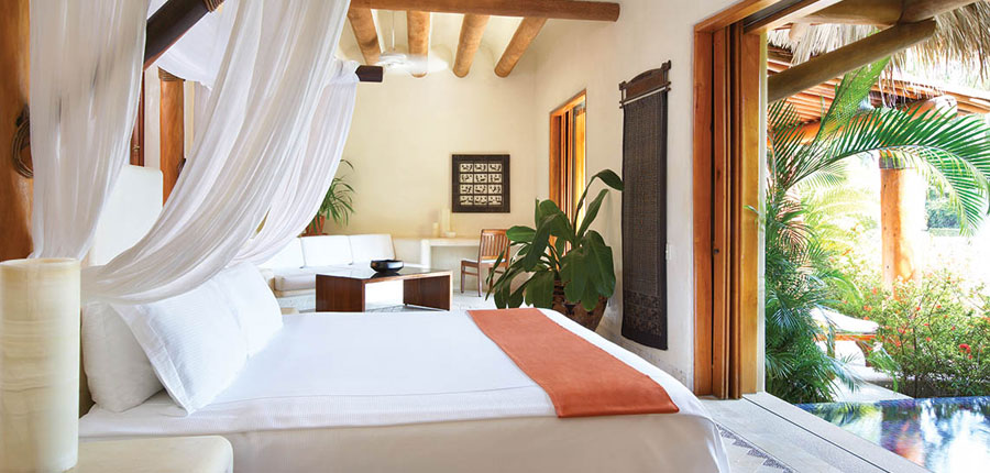 Named the third best hotel in Mexico by the Conde Nast Traveler Reader's Choice Awards, Viceroy Zihuatanejo was renovated in 2007 by The Kor Group.